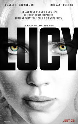 The poster for 'Lucy'