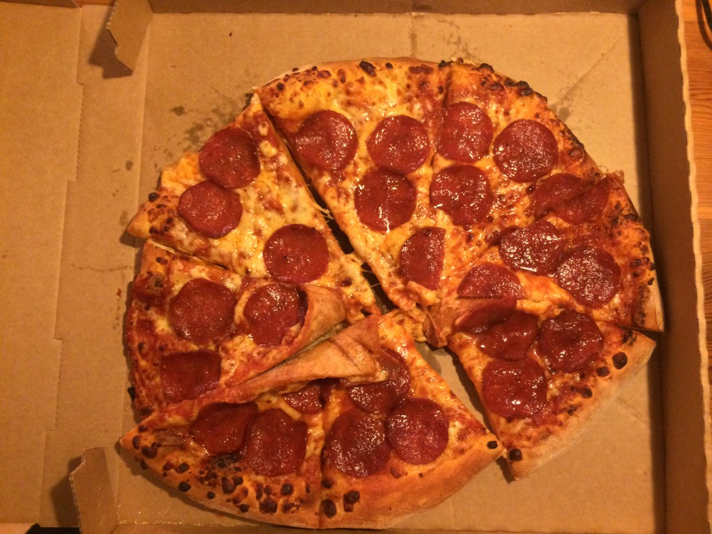 Is it ironic to order a 'perfect pepperoni' and then receive this?
