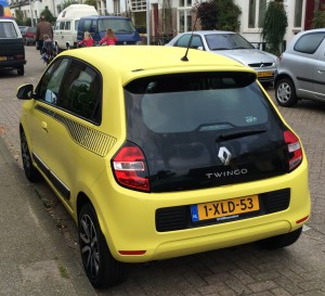 The sporty 'eat my dust' rear of this 'hot hatch' certainly shows no sign the car is powered by a lawnmower engine.